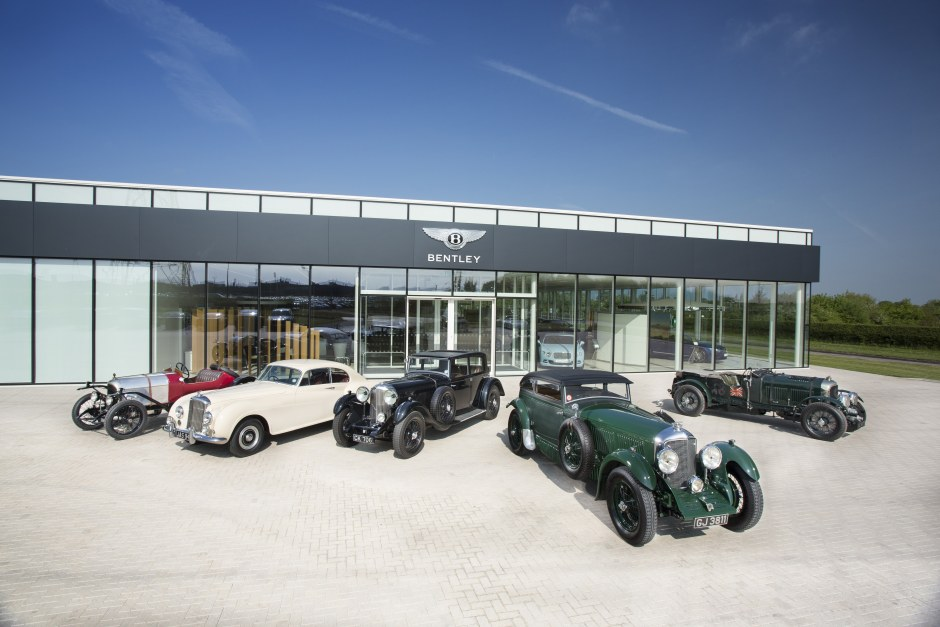 Classic Bentleys ready for action-packed summer season (2)
