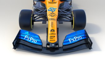 MCL34 Front Nose_Branded_LAUNCH LIVERY 14 FEB 2019