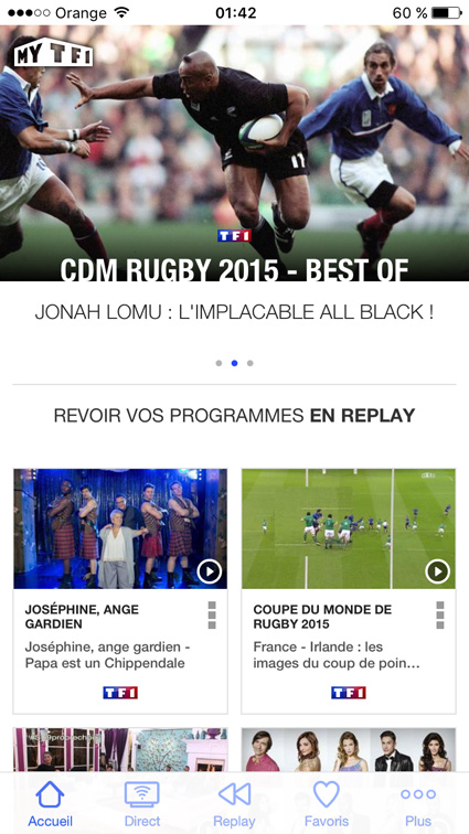 regarder TF1, TMC, NT1, HD1 hors France