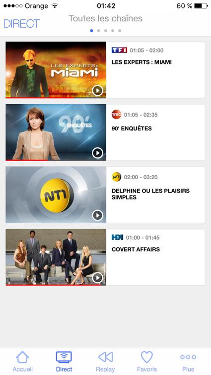regarder TF1, TMC, NT1, HD1 à l'étranger