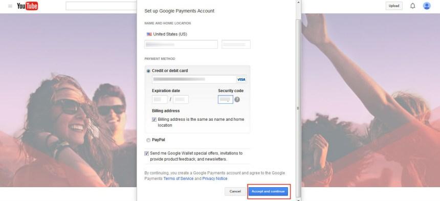 Créer un compte gratuit Youtube Red hors USA