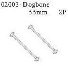 02003 - Universal lever 55mm*2PCS 1