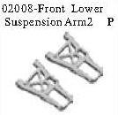 02008 - Front lower arm*2PCS 10