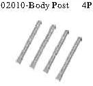 02010 - Body mounts*4PCS 10