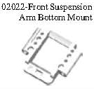 02022 - Front arm holder*1PC 9