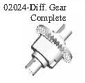 02024 - Differential gear set*1SET 4