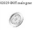 02029 - Differential big steel gear 10