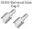 02032 - Universal joint C*2PCS 9