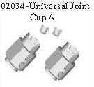 02034 - Universal joint A*2PCS 10