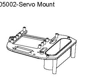 05002 - Servo Mount 2
