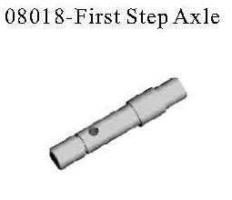08018 - No.1 way Axes 4