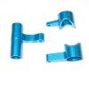 081057 - Alum.Steering Bush/Servo Saver Complete(blue) 3