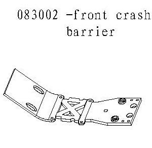 083002 - Front crash barrier 1stk 2