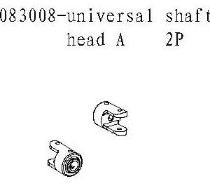 083008 - universal shaft head A 2stk 7