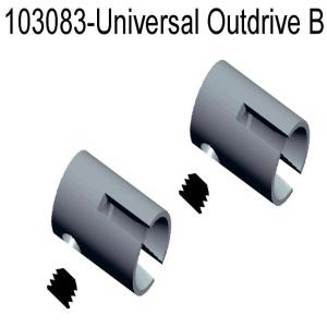 11260/103083 - Univesal shaft joint - inner hex head screw 1sæt 9