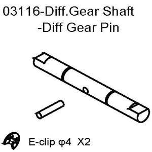 103116 - Diff gear shaft 1