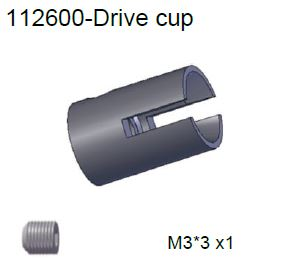 112600 - Drive cup 2