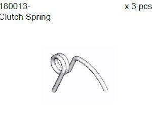180013 - Clutch spring 6