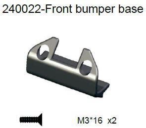240022 - Front bumper base 8