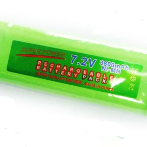 7,2V 3800mAh batteripakke 8