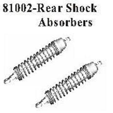 81002 - Metal rear shock set 3