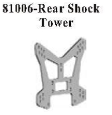 81006 - Rear shield shock brace 7