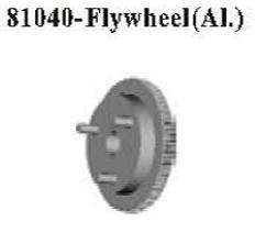81040 - Al-alloy flywheel 3