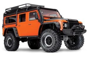 Traxxas TRX-4 Crawler Land Rover Defender D110