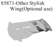 85871 - Other Stylish Wing (Optional use) 10
