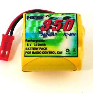 6v 350mAh modtager batteri 1/16 5