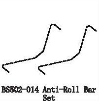 BS502-014 - Anti-Roll Bar Set 5