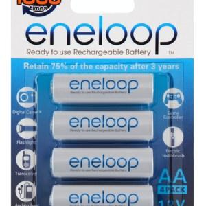 Sanyo Eneloop 4 AA batterier 2