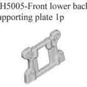 RH5005 - Front lower back supporting plate 1p 5