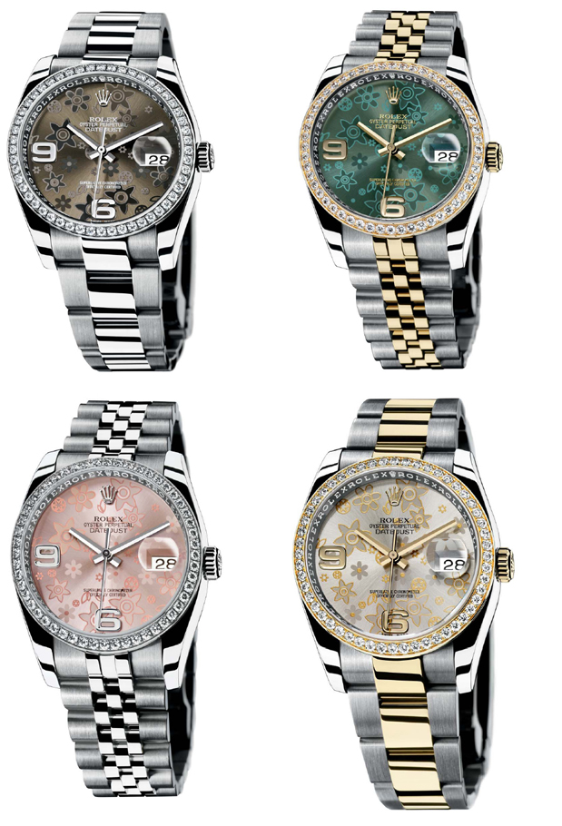 Rolex Oyster Perpetual Datejust Ladies IV