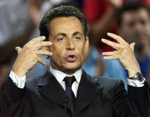Nicolas Sarkozy Rolex Daytona Cosmograph Black dial