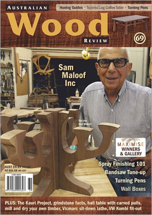 Australian Wood Review Back Issue 69