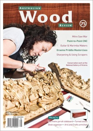 Australian Wood Review Back Issue 75