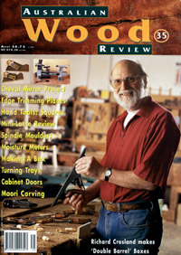 Australian Wood Review Back Issue 35