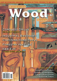 Australian Wood Review Back Issue 42