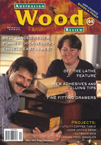 Australian Wood Review Back Issue 44
