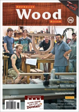 Australian Wood Review Back Issue 76