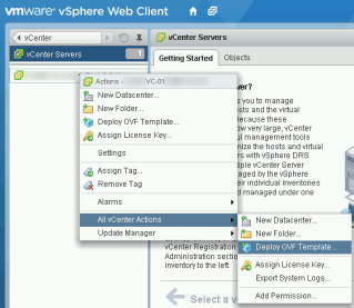 How to Deploy OVA / OVF Template Using VMware vSphere Web Client |  InterWorks