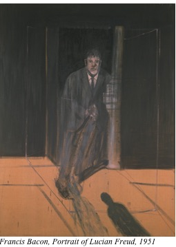 Portrait of Freud by Bacon