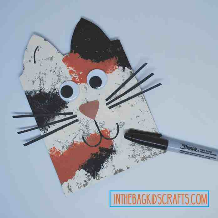 Cat Gift Bag Step 5