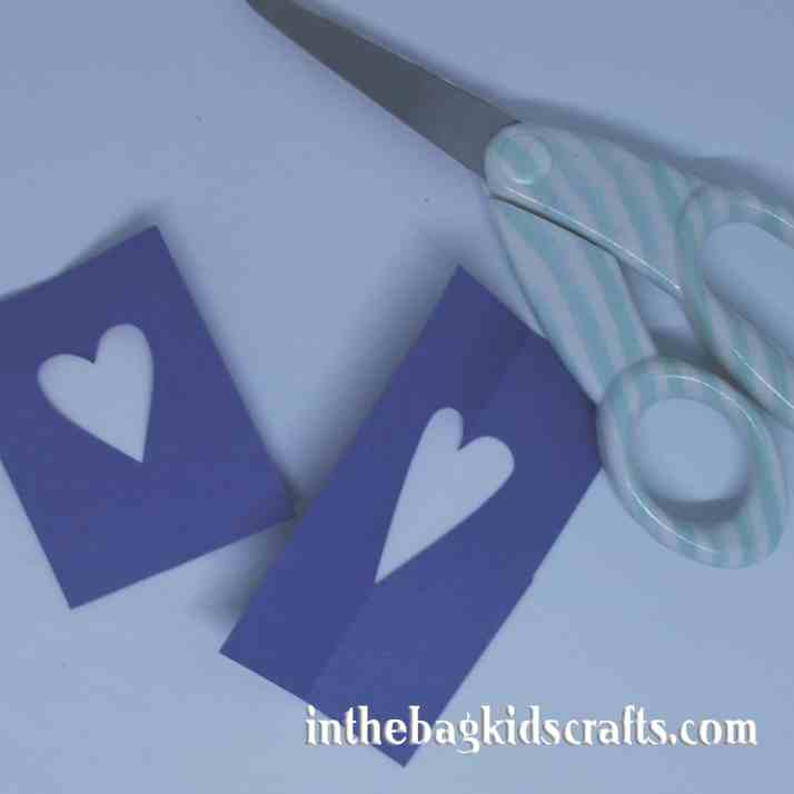Easy Kids' Craft Rocking Blue Bird Step 4