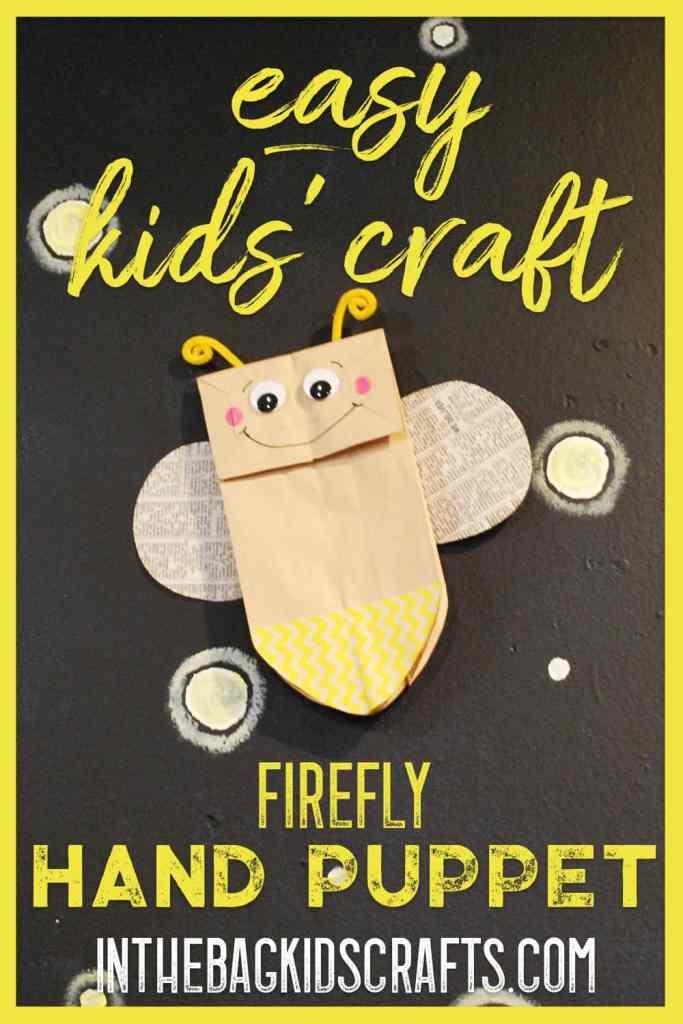 firefly easy kids craft