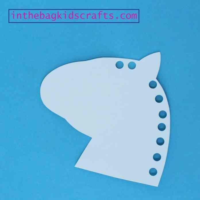 unicorn kids craft step 3
