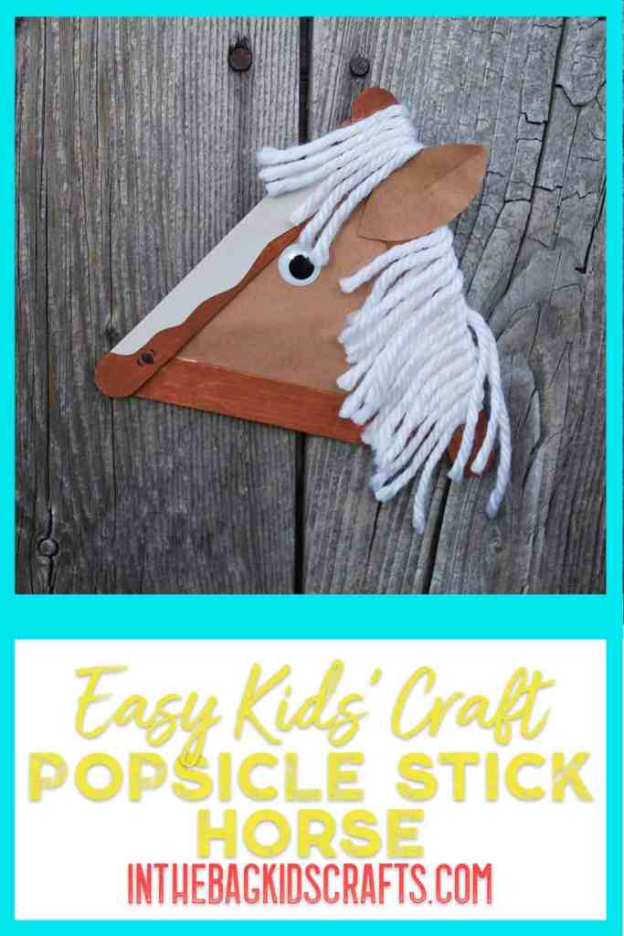 horse kids craft