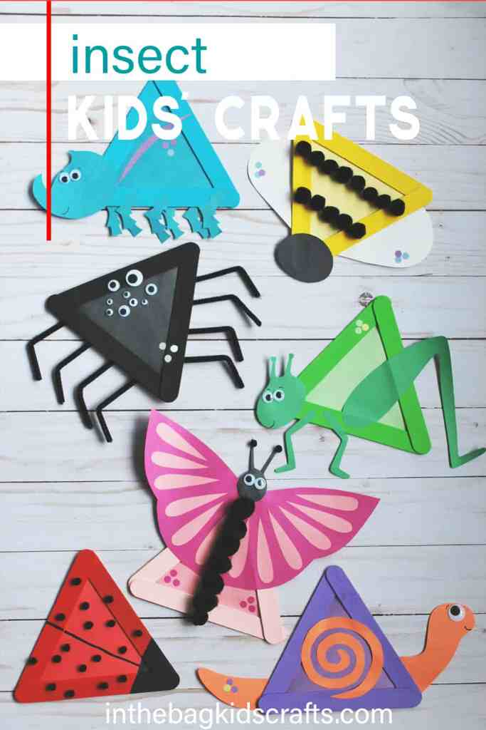 INSECT KIDS CRAFTS