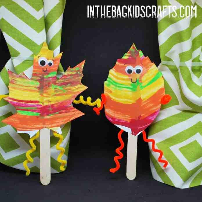 Autumn Leaf Puppet Show